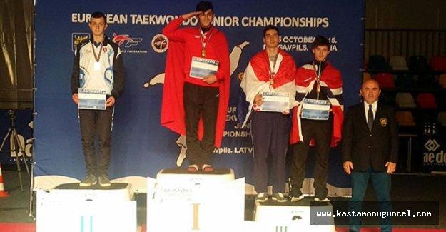 Avrupa Taekwondo Şampiyonası'ndan 5 Madalya