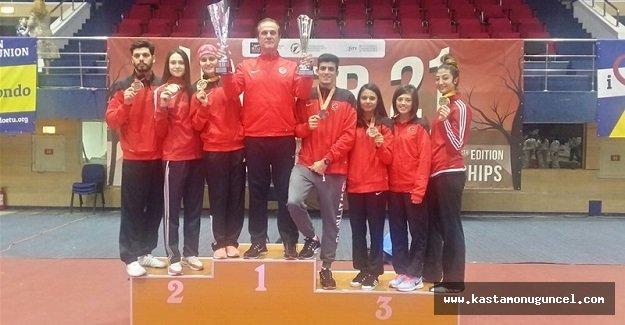 Türkiye, Taekwondoda Avrupa Şampiyonu