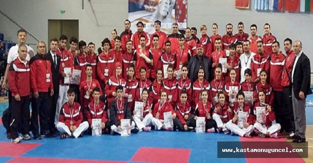 Türkiye, Taekwondoda Balkan Şampiyonu