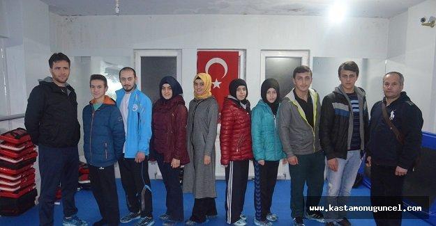 Milli Taekwondocularımız Antalya Yolcusu
