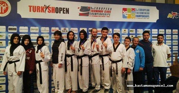 Milli Taekwondocularımızdan 5 Madalya