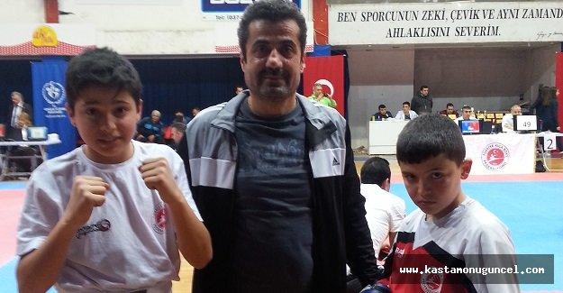 Taşköprülü Kick Bokscular Bolu'dan Döndü