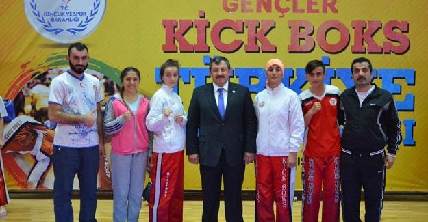 Kick Bokscularımızdan 1 altın, 2 gümüş madalya