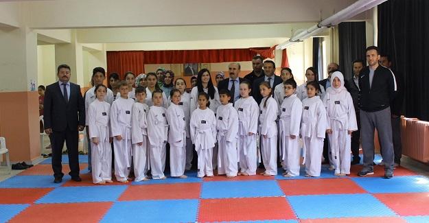 Şenpazar'da Kuşak Sınav Heyecanı