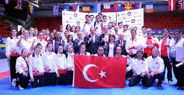 Türkiye, Taekwondo'da Avrupa İkincisi