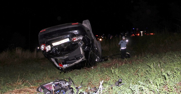 Aynı kavşakta 4 ayrı kaza: 1 ölü, 16 yaralı