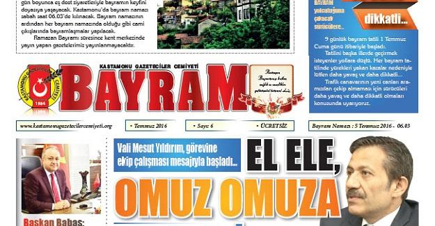 Bayram Gazetesi çıktı