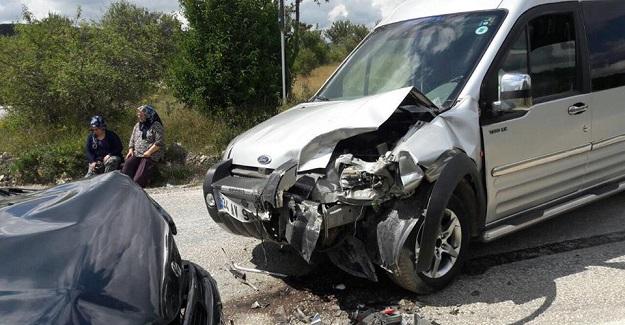 Daday'da kaza: 4 Yaralı