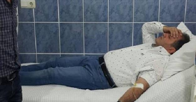 Fenalaşan Milletvekili hastaneye kaldırıldı