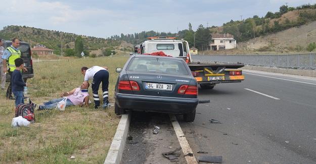 Kastamonu'da trafik kazası: 2 ağır yaralı