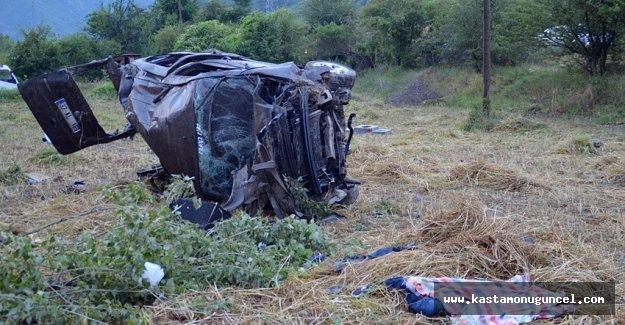 Kastamonu'da trafik kazası: 2 ölü, 4 ağır yaralı