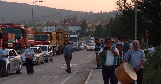 Kastamonu'da 500 araçlık demokrasi konvoyu