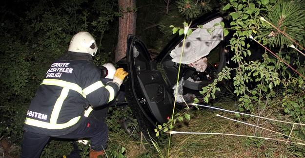 Kazada ağır yaralanan bebekte hayatını kaybetti