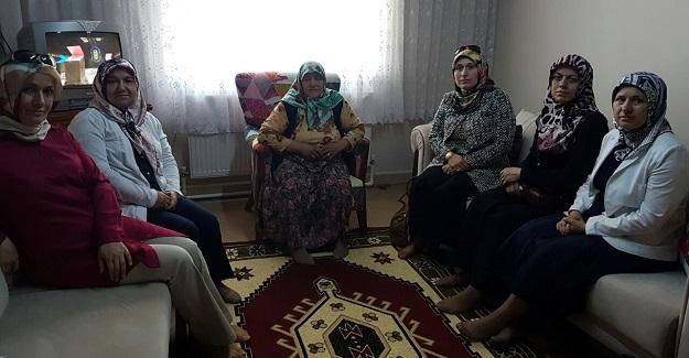MHP İl Kadın Kolları'ndan Ziyaret