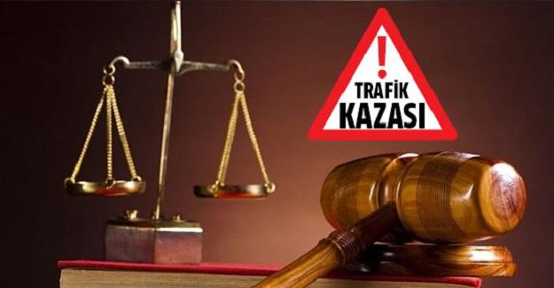 Ölümlü kazada 18 bin 200 lira para cezası