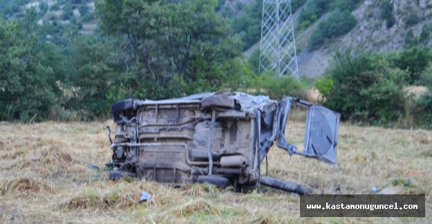 Tosya'daki kazada yaralanan kişi kurtarılamadı