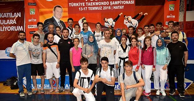 Yücel, Poomsae Türkiye Üçüncüsü