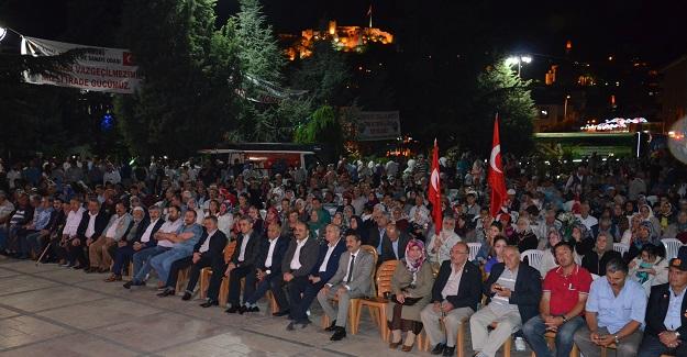 17. gününde Demokrasi Nöbeti'ne devam