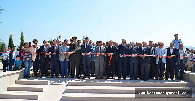 Atatürk'ün Taşköprü'ye gelişi coşkuyla kutlandı