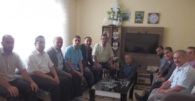 Din görevlilerinden Gazi Uzman Çavuş'a ziyaret
