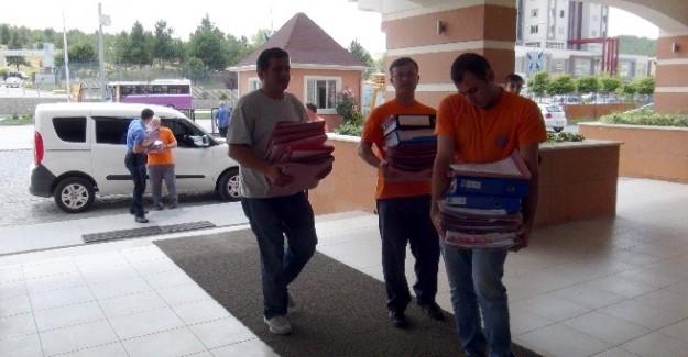 Kastamonu'da mahkumların tahliyesine başlandı