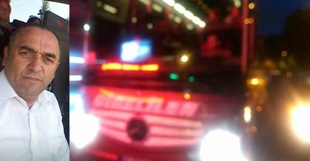 Kastamonulu otobüs şoförüne silahlı saldırı