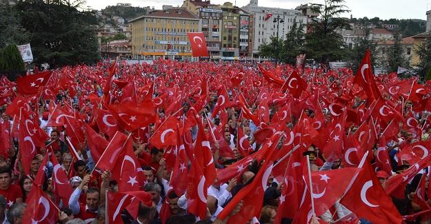 Kurtuluş ruhu Kastamonu'da demokrasi için canlandı