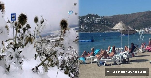 Batıda bahar, doğuda kış!