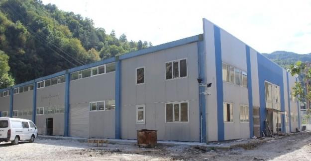 İnebolu'da Tekstil Fabrikası 3 Ekim'de start verecek