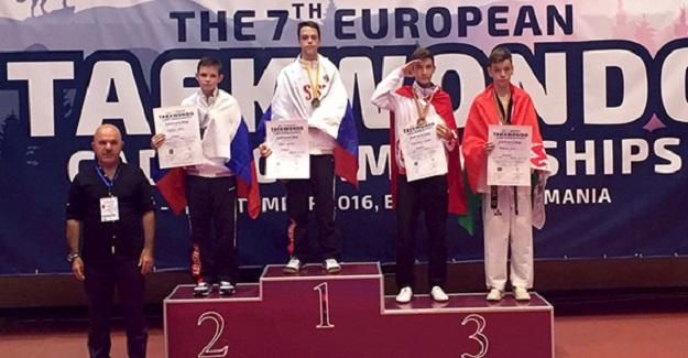 Kastamonu Taekwondosunda ilk Avrupa derecesi