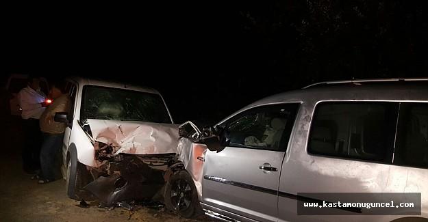 Kastamonu'da trafik kazası; 8 Yaralı