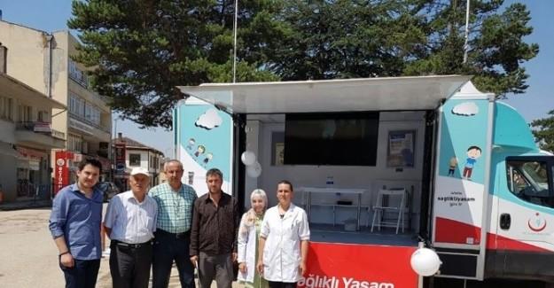 Sağlıklı Yaşam Mobil Aracı Daday'da