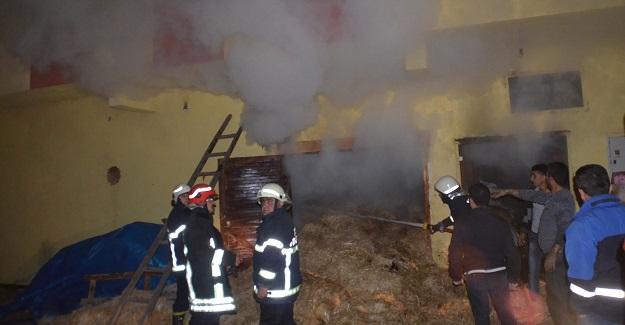 Samanlık yangınında bir aile ölümden döndü