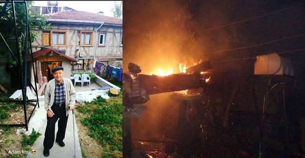 Sinop Erfelek'te yangın: 1 ölü
