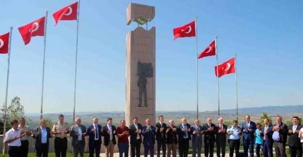 Taşköprü'de bayramlaşma töreni yapıldı