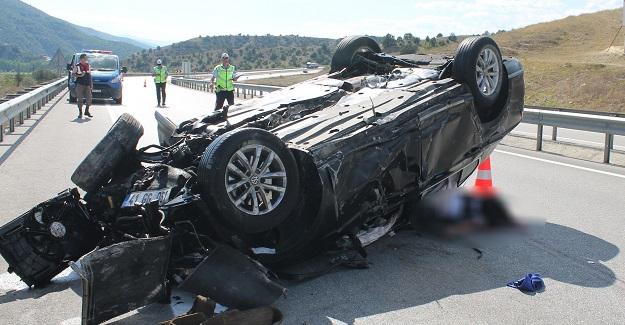 Tosya'da trafik kazası: 1 ölü, 3 yaralı