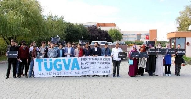 TÜGVA, Halep'teki saldırıyı protesto etti