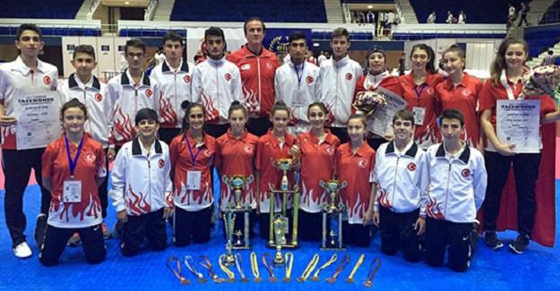 Türkiye, Yıldızlarda Avrupa Şampiyonu oldu