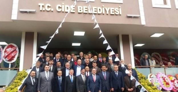 Cide Belediyesi, yeni hizmet binasına kavuştu