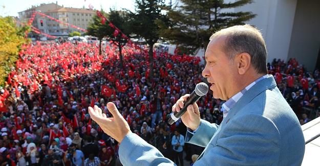 """Cumhurbaşkanı Erdoğan: """"Onlar kaçacak biz kovalayacağız"""""""