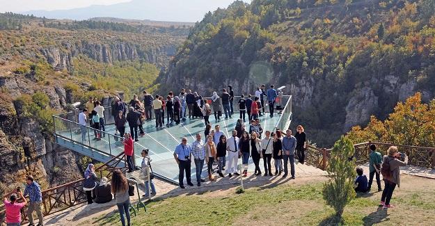 Gazeteciler Safranbolu'yu gezdi