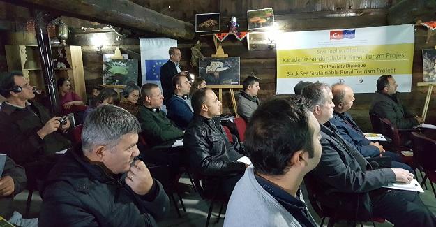 Küre Dağları'nda çalıştay gerçekleştirildi