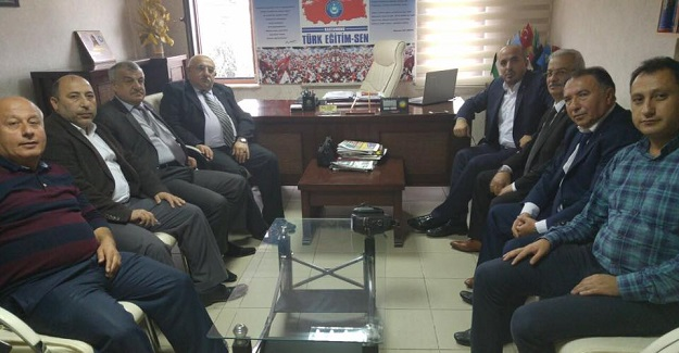 MHP İl Yönetiminden Kamu-Sen'e ziyaret
