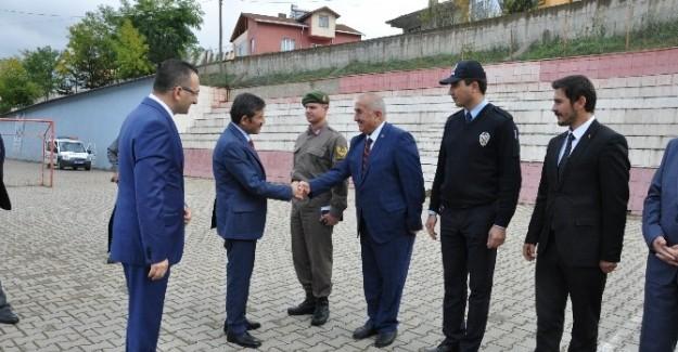 Pınarbaşı'da değerlendirme toplantısı
