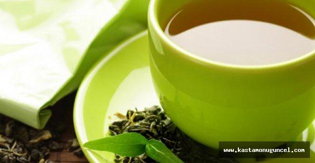 Yeşil çay zayıflatıyor