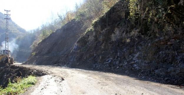 13 köyün grup yolu ulaşıma açıldı