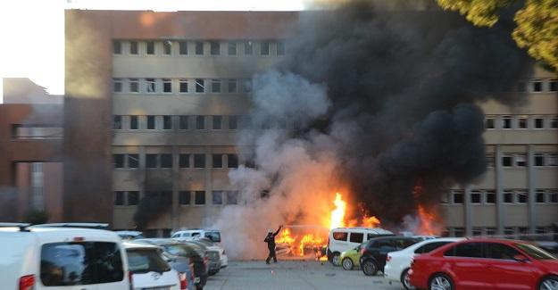 Adana'da patlama: 2 şehit, 33 yaralı