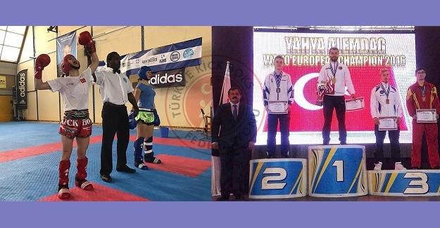 Avrupa Kick Boks Şampiyonası'ndan 29 madalya