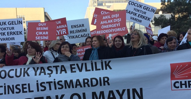 CHP'li kadınlar Ankara'ya çıkarma yaptı