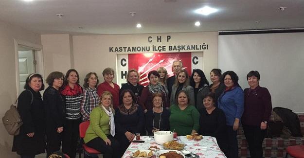 CHP'li kadınlardan birlik ve beraberlik vurgusu